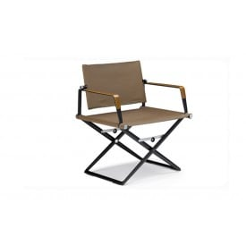SeaX Leather Lounge Chair-Armchair-Dedon-Jean-Marie Massaud