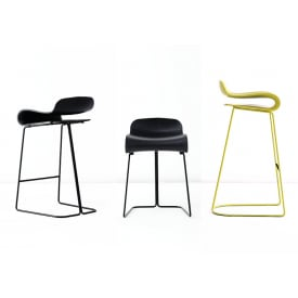 BCN Stool Sled Base-Stool-Kristalia-Harry&Camila
