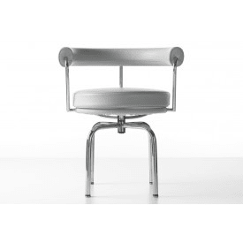 LC7 White-Armchair-Cassina-Le Corbusier, Pierre Jeanneret, Charlotte Perriand