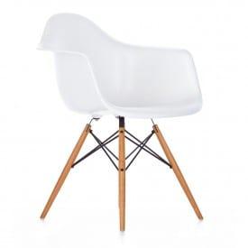 Eames Plastic ArmChair DAW-Chair-VItra-Charles & Ray Eames