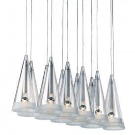 Fucsia 12-Suspension Lamp-Flos-Achille Castiglioni