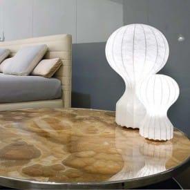 Gatto piccolo-Table Lamp-Flos-Achille Castiglioni Pier Giacomo Castiglioni