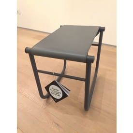 LC9 stool grey-Stool-Cassina-Charlotte Perriand Jeanneret Le Corbusier