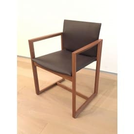 Eve Armchair Brown-Armchair-Cassina-Piero Lissoni