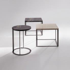 Lithos round-Coffee Table-Maxalto-Antonio Citterio