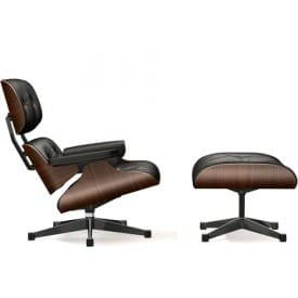 Lounge Chair & Ottoman-Lounge Chair-VItra-Charles & Ray Eames