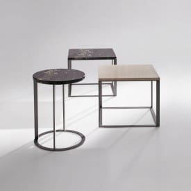Maxalto Lithos Side Table Group