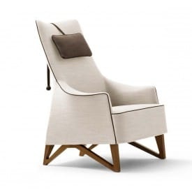 Mobius 63940 Wing chair-Armchair-Giorgetti-Umberto Asnago