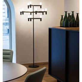 Crown Floor Nemo Lamp black ambience