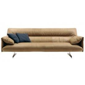Antohn 3 Seater Sofa-Sofa-Poltrona Frau-Jean-Marie Massaud