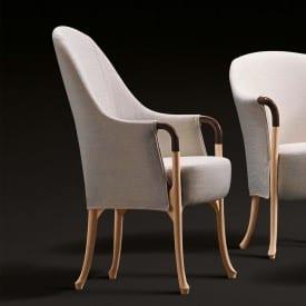 Progetti 63250 Armchairr in beech wood-Armchair-Giorgetti-Centro Ricerche Giorgetti