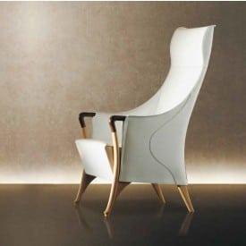 Progetti Saddle Leather 64240-Armchair-Giorgetti-Centro Ricerche Giorgetti