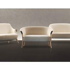 Progetti 63232 2-seat sofa in beech wood-Sofa-Giorgetti-Centro Ricerche Giorgetti