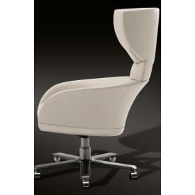 Selectus Swivel wing chair-Executive Armchair-Giorgetti-Leon Krier
