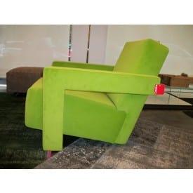 Utrecht Green Armchair-Armchair-Cassina-Gerrit T Rietveld