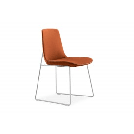 Ventura Sled Base-Chair-Poliform-Jean-Marie Massaud