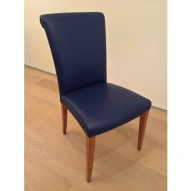 Vittoria Chair Blue-Chair-Poltrona Frau-Poltrona Frau