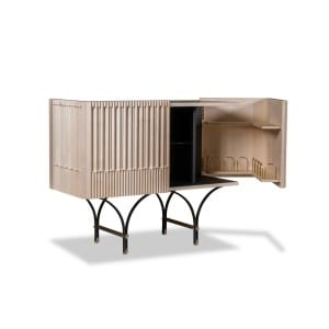 Baxter Guell Bar Cabinet natural small