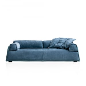 Baxter Hard & Soft Sofa Tuscany Viareggio and Kashmir Saphir