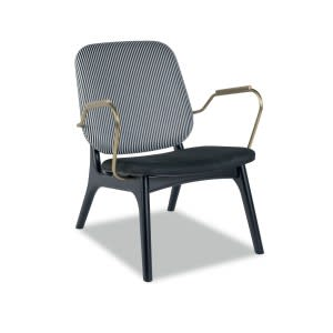 Baxter Thea armchair striped