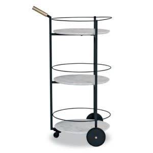 Baxter Tumbler Serving Cart