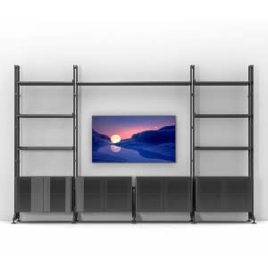 cassina bookcase Infinito Wall