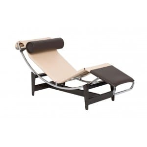Cassina LC4 CP Chaise Longue Louis Vitton