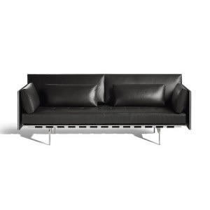 Poltrona Frau Clayton sofa leather