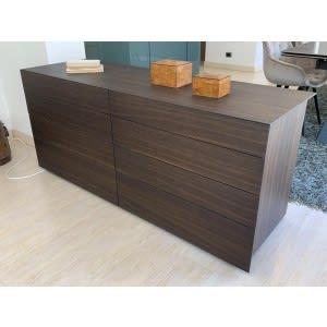 poliform abbinabili drawer oak