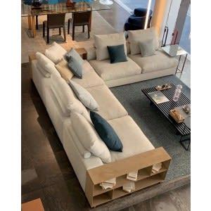 divano groundpiece flexform ambiente