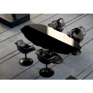 Edra Egeo table black