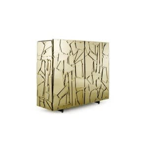 Edra Scrigno Sideboards gold 4