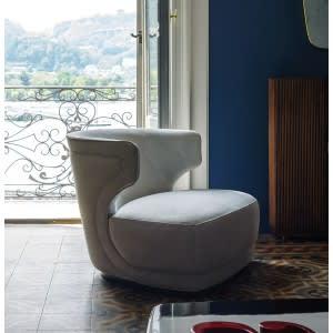 Baxter Etienne armchair profile