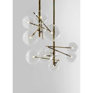 Gallotti&Radice Bolle suspension lamp composition