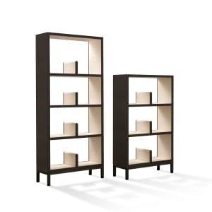 Giorgetti Nea bookcase heights