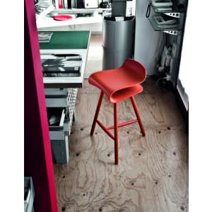 BCN Stool Wooden Base-Stool-Kristalia-Harry&Camila
