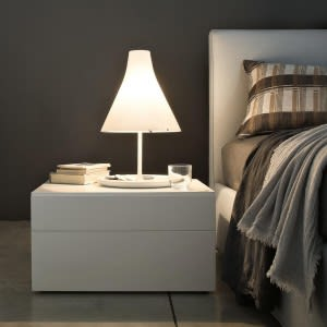 Quarantacinque bedside-Bedside Table-Lema-Officinadesign Lema