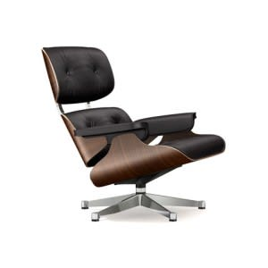 Lounge Chair-Lounge Chair-VItra-Charles & Ray Eames