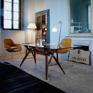 Reale table -Table-Zanotta-Carlo Mollino
