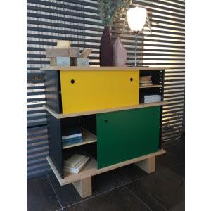 Nuage BL-Cabinet-Cassina-Charlotte Perriand