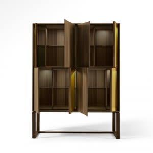 Origami Square tall cabinet.-Sideboard-Giorgetti-Massimo Castagna