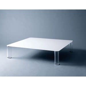 Pipeline coffee table - Rectangular Glossy and extralight-Side Table-Glas italia-Piero Lissoni