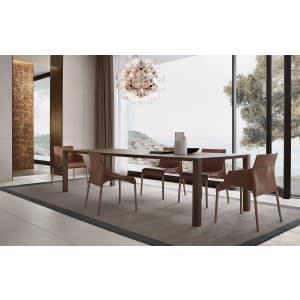 poliform blade dining table