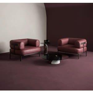 Baxter Belt armchair
