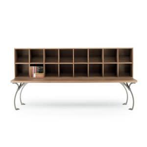 Sangirolamo Bookcase-Bookcase-Poltrona Frau-Achille Castiglioni Michele De Lucchi