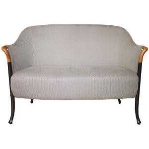 Progetti 63222 2-seat sofa in beech wood-Sofa-Giorgetti-Centro Ricerche Giorgetti