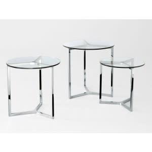 Raj2 Coffee Table Set-Side Table-Gallotti Radice-Ricardo Bello Dias