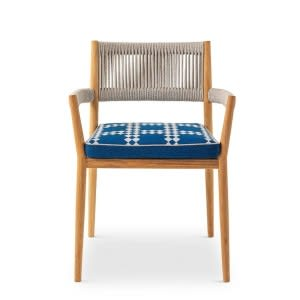 sedia dine out cassina outdoor