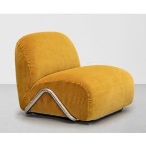 Tacchini Victoria armchair yellow