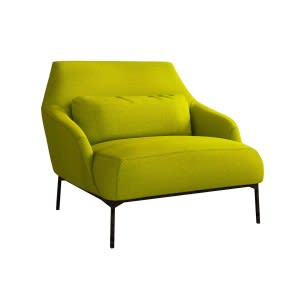 Tacchini Lima armchair green